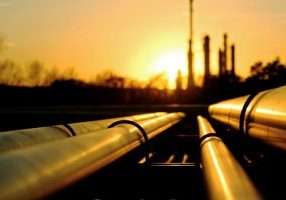 Pipelines at Sunset